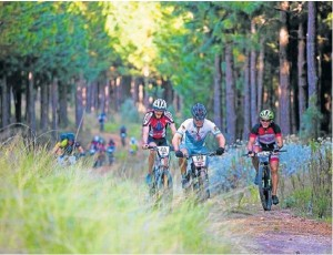 Mountain bikers not keen on doing the full race have the chance to experience two days of racing