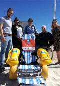Amphibious wheelchairs to make Blue Flag beaches universally accessible