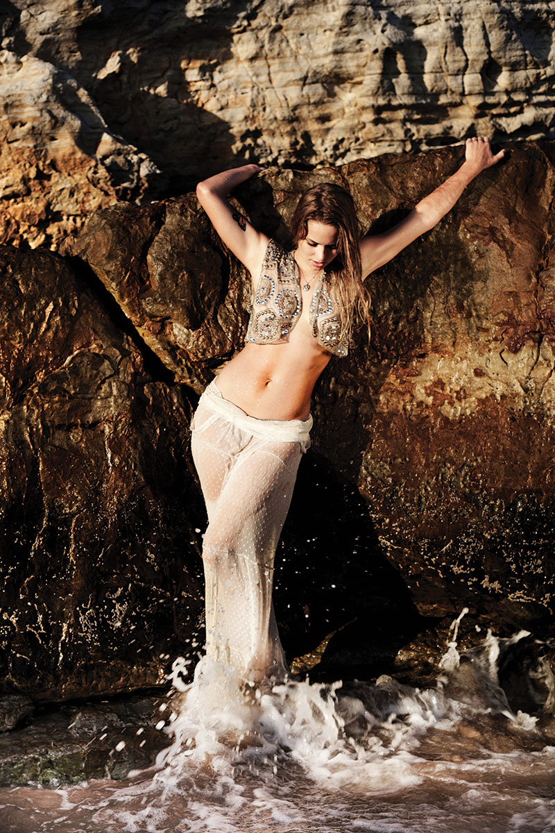 The mystery of what a real mermaid might be, with model Oda Tungodden