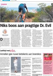 Dr Evil in Die Beeld newspaper