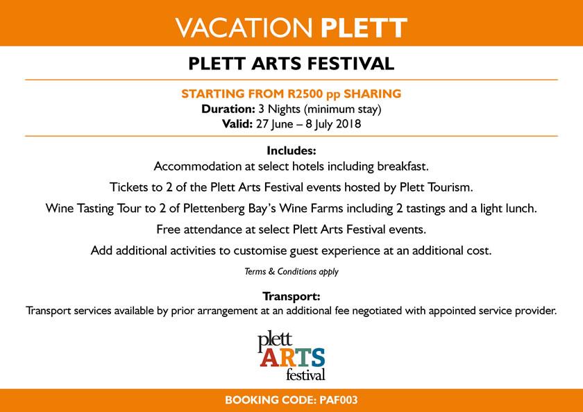 Vacation Plett - Plett ARTS Festival