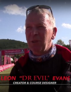 Leon Evans (AKA Dr Evil) during last year's race