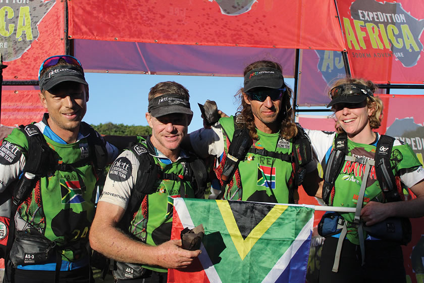 Plett Adventure Racing Team - Petrus, Andrew, Drew and Kate