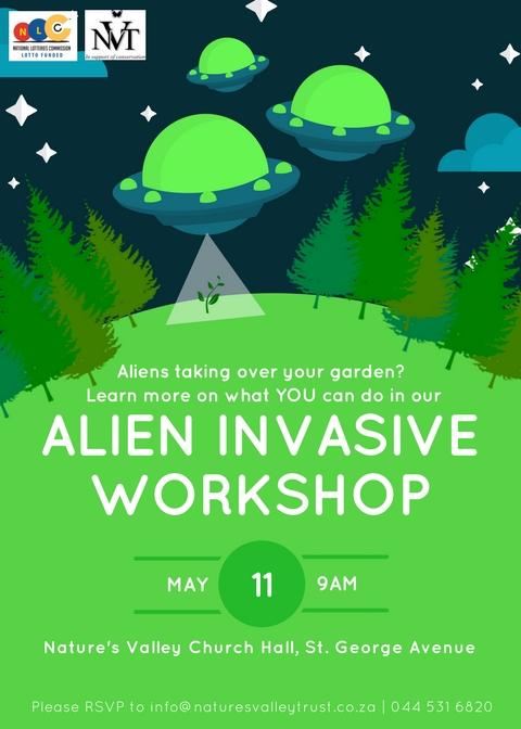 Alien invasive workshop