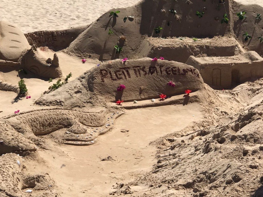 sand art, plett, local, tourism, beaches, beach, sandart, sculptures, sand sculptures, plettenberg bay