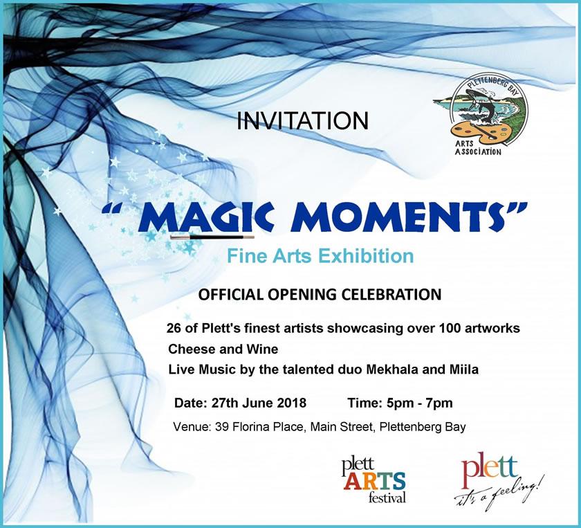 Magic Moments Art Exhibition - 27th June 2018