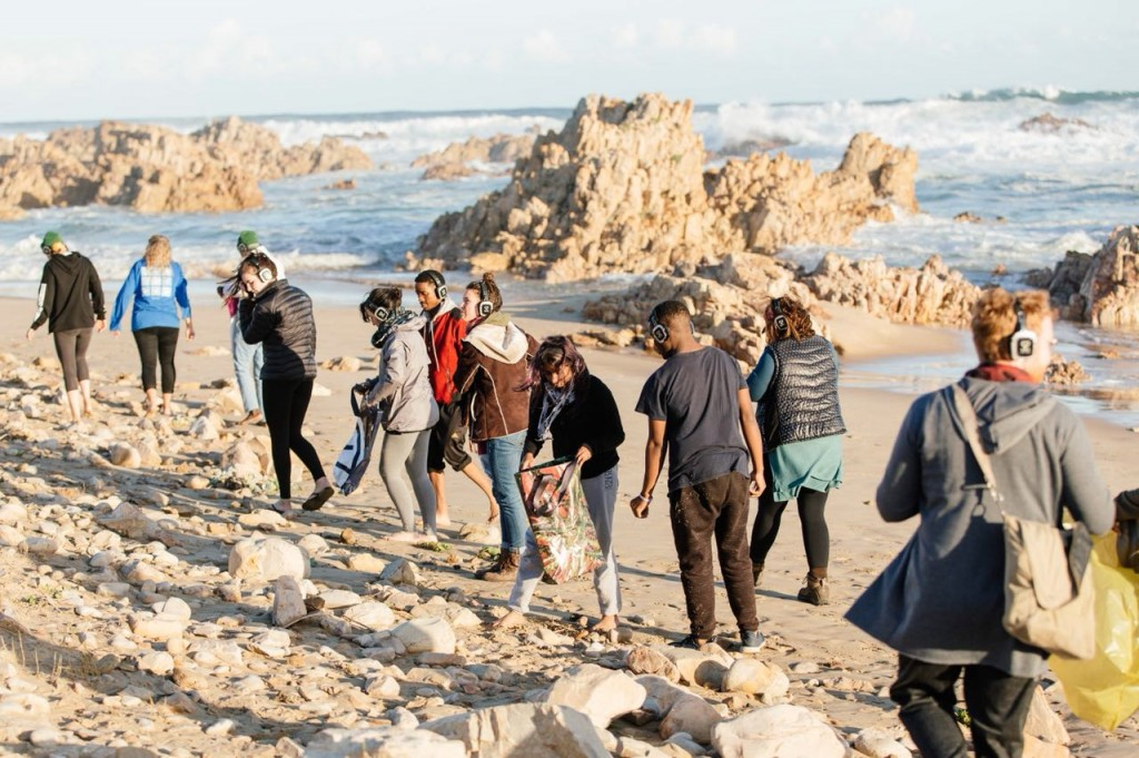 Beach Clean-Up in Walker Bay, in collaboration with Beach Co-Op and Secret Sunrise