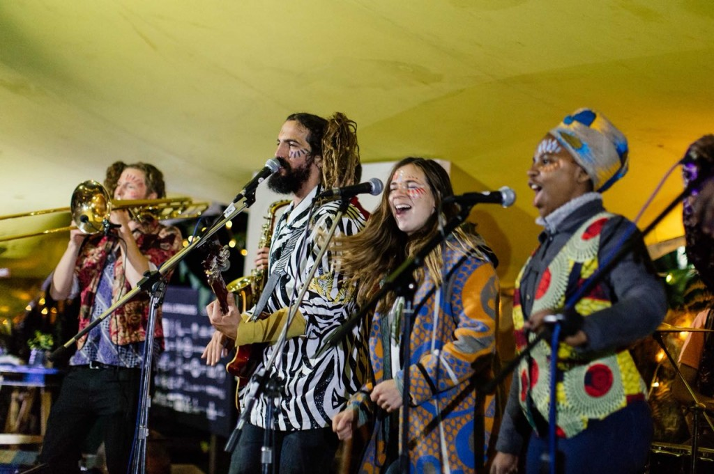 The Steezies at Peace of Eden for cloding Celebration Evening