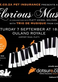Another evening of Glorious Music with Trio de Musique