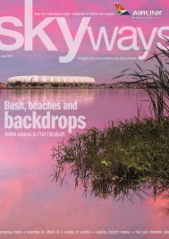 SA Airlink features Plett in Skyways magazine