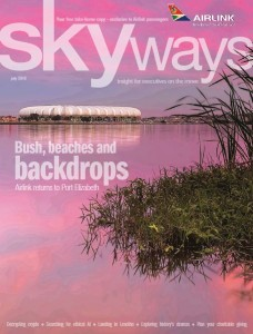 SA Airlink's Skyways magazine features Plett