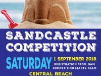 Bitou 10 Sandcastle Competition
