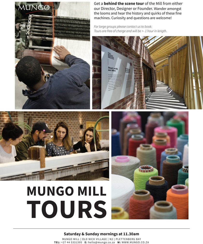 Mungo Mill Weekend Tours