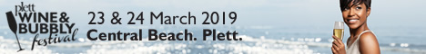 Plett Wine & Bubbly Festival 23 & 24 March 2019