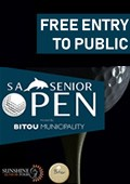 Free entry to watch the Sunshine Tour seniors in Plett