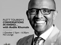 Conversations in Kwano with Andile Khumalo
