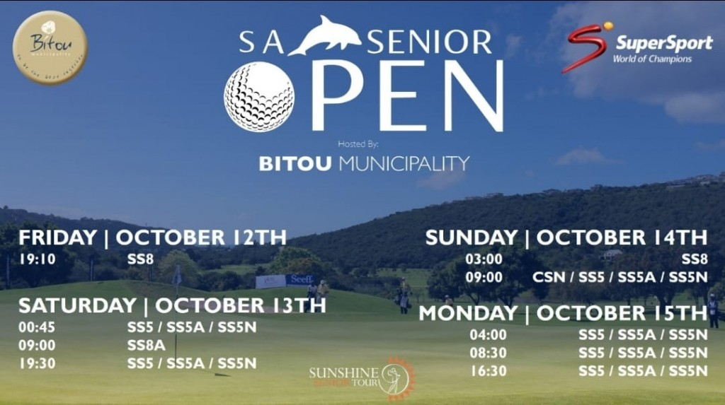 golf sa open on tv plett