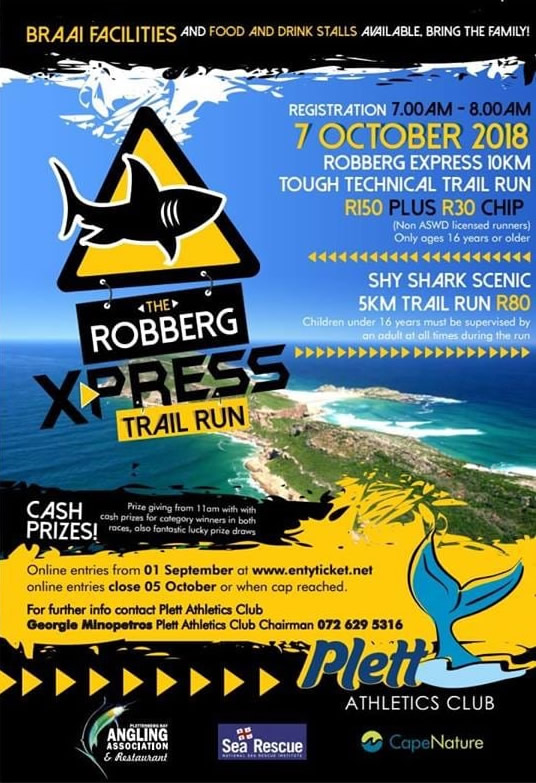 robberg express 2018