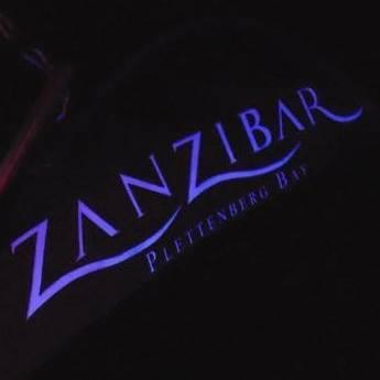 Zanzibar nightclub, bar and cocktail lounge is an upmarket spot in Plett.
