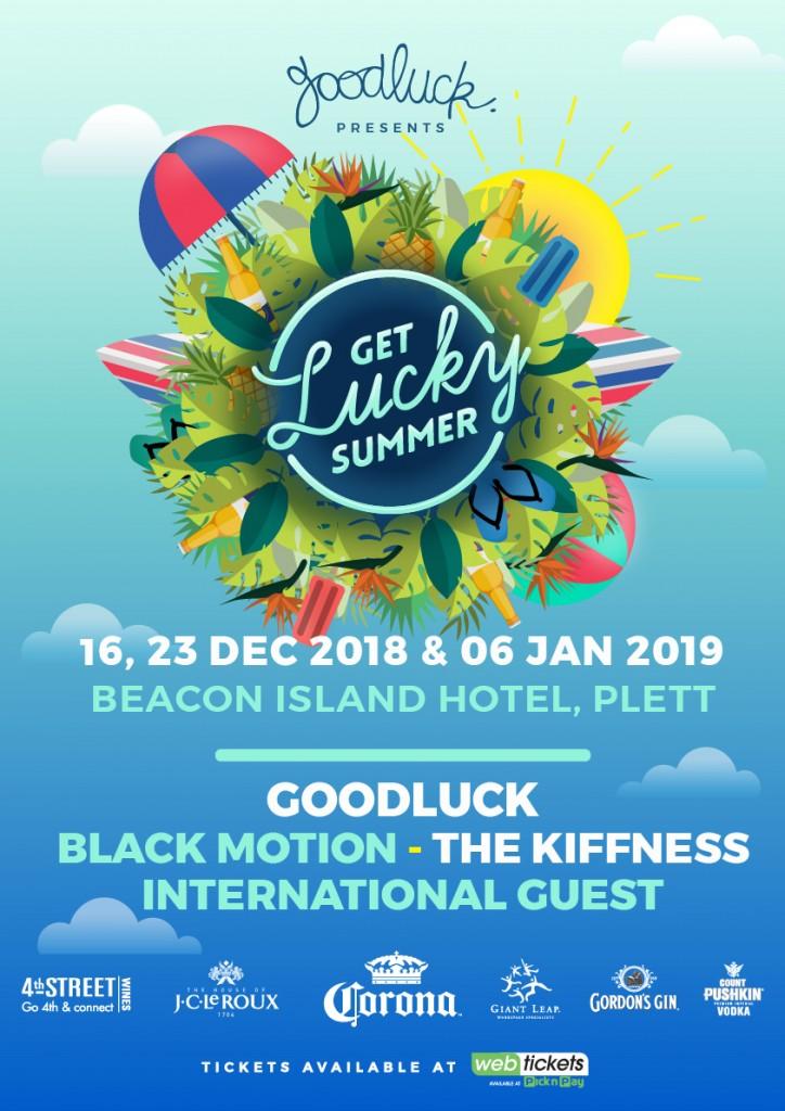 Get Lucky Summer 2018