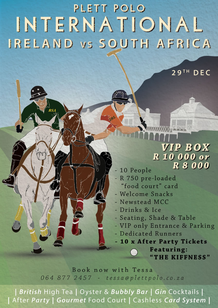 Polo International in Plett 29 Dec 2018