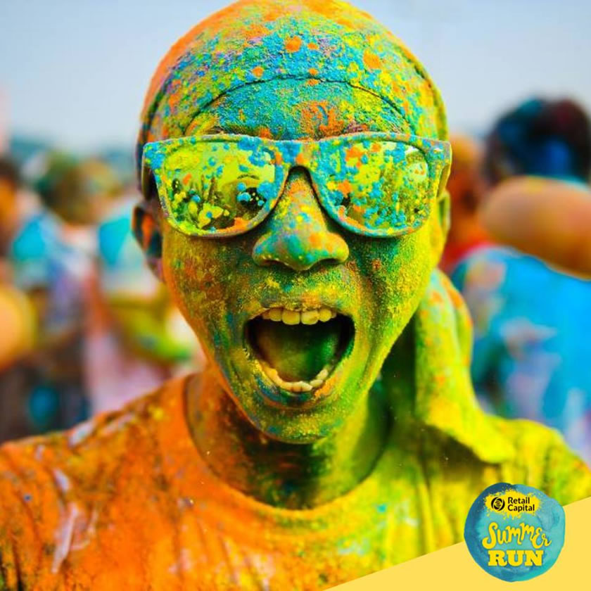 Summer Color Run in Plett