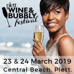 Plett Wine & Bubbly Festival 2019 in Plettenberg Bay