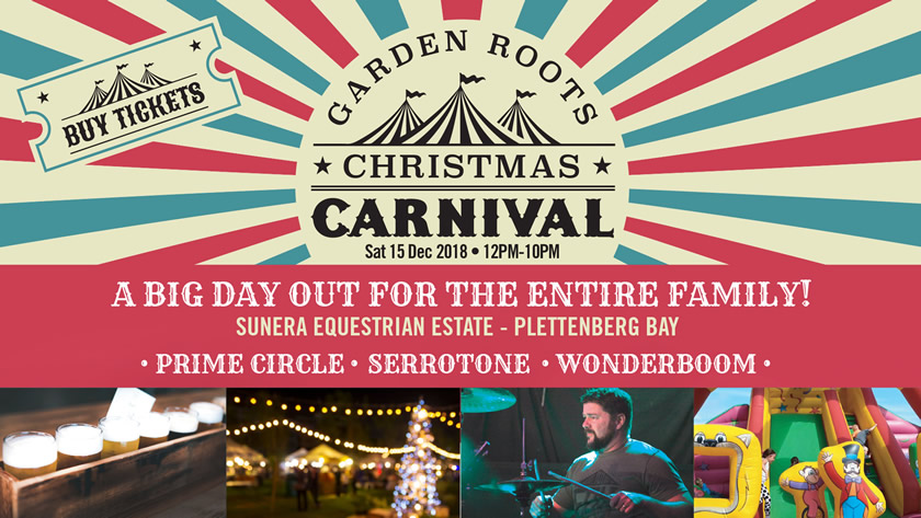 Christmas Carnival Poster.Garden Roots Christmas Carnival Garden Roots Christmas