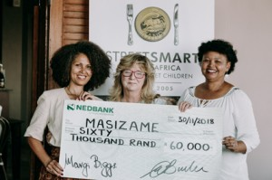 Melanie Burke (StreetSmart SA) with Brenda Wall and Elaine Smith (Masizame).jpg lr
