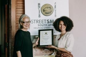 Sybil Harker (Grand Africa Rooms & Rendezvous) with Melanie Burke (StreeSmart SA).jpg lr