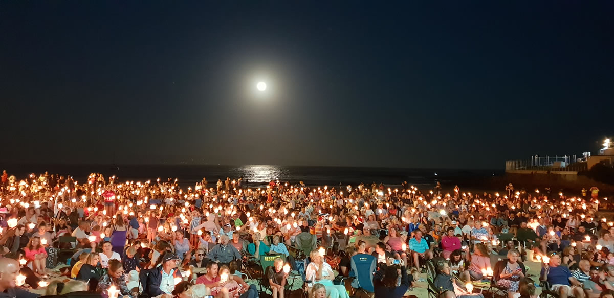 carols by candlelight plett