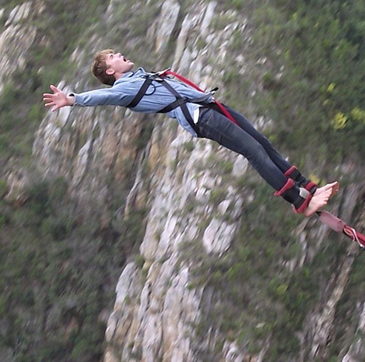 Bungy in Plettenberg Bay - Plett bungy jump