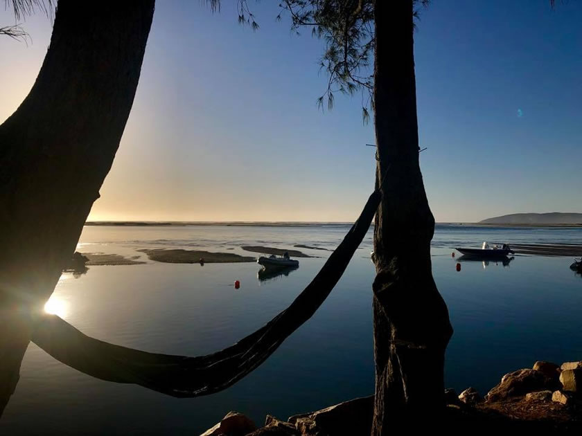 Camp at Keurbooms Lagoon. Photo: Jackie Parlframan