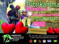 Tsitsikamma Canopy Tour Valentine Special