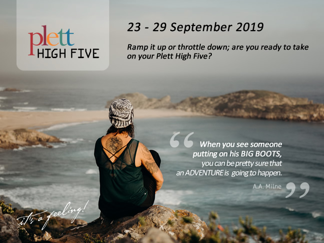 Plett HIGH FIVE - Take on your top 5 adventures in Plett