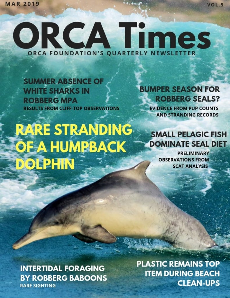 ORCA TIMES Vol 5 March 2019