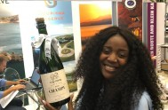 The very glam Phaswana Mbofholowo from Weddings at Kalahari was in Limpopo has won today's Plett High Five wine completion with a bottle of brut Kay & Monty 'Champu' MCC. Cheers ????