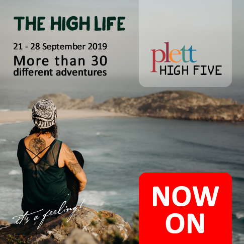 Plett HIGH FIVE - are you ready to take on your Plett HIGH FIVE?