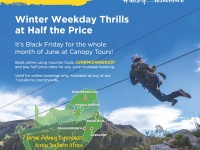 Canopy Tour Winter Special