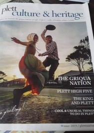 New Plett Culture & Heritage magazine out now!
