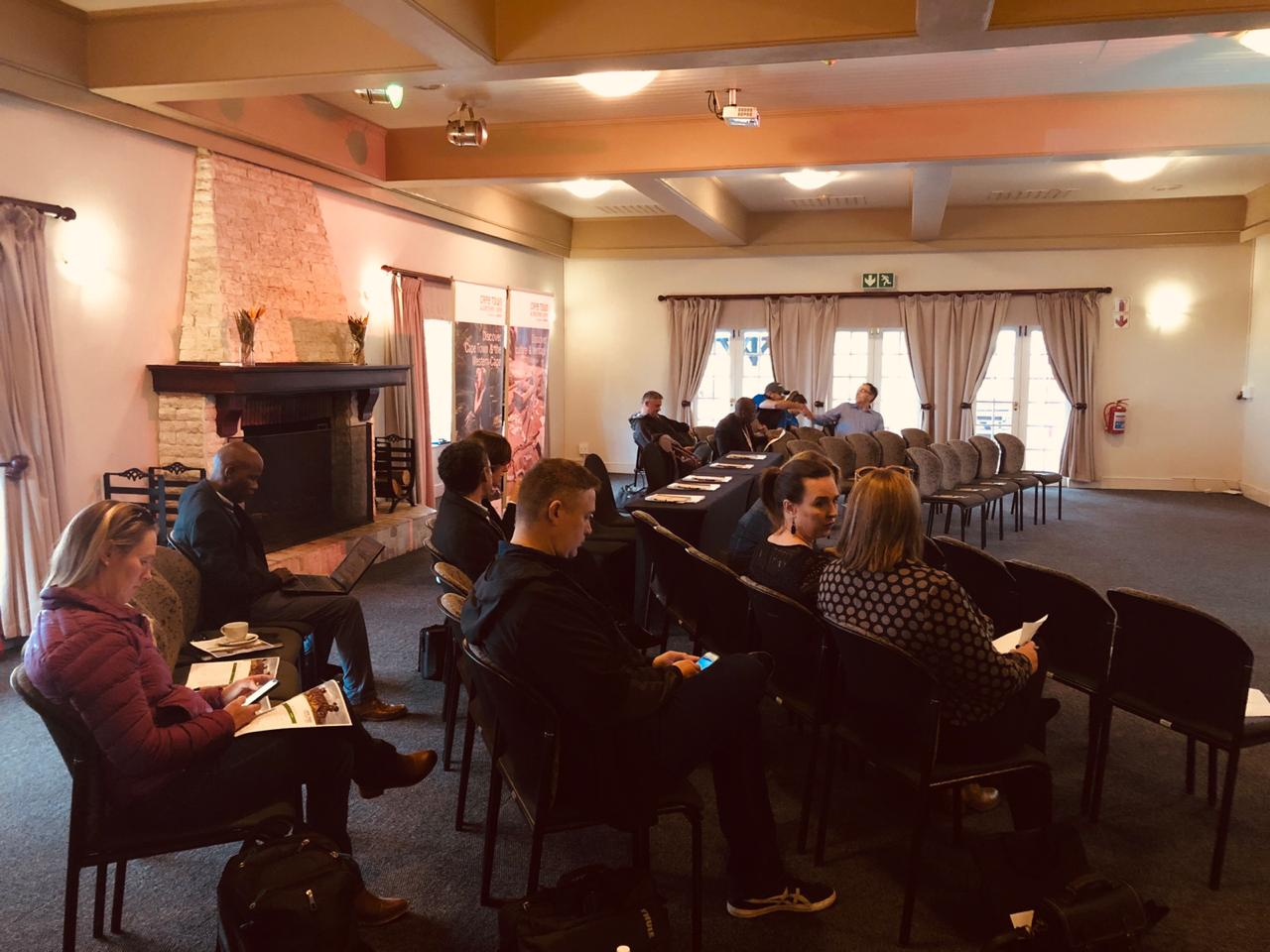 Western Cape Travel Trade Meeting in Caledon attended by Patty Butterworth