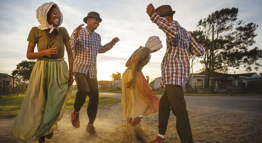 The rieldans, performed by members of Plett's Griqua community in Kranshoek.