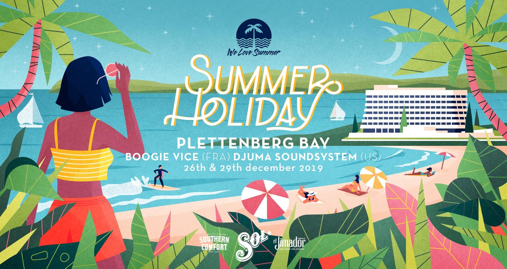 We Love Summer concert in Plett
