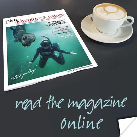 Read the Plett Tourism magazine online