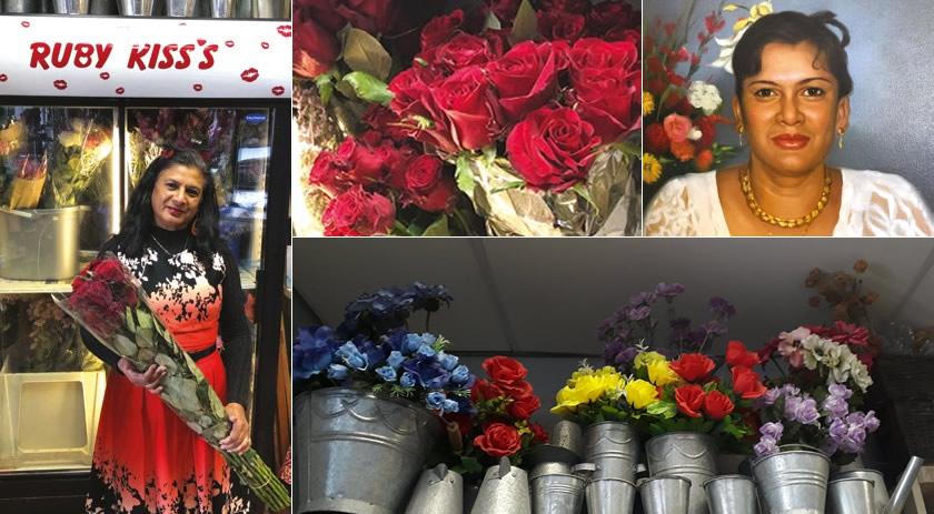 Ruby Kiss's Flower Shop in Plett