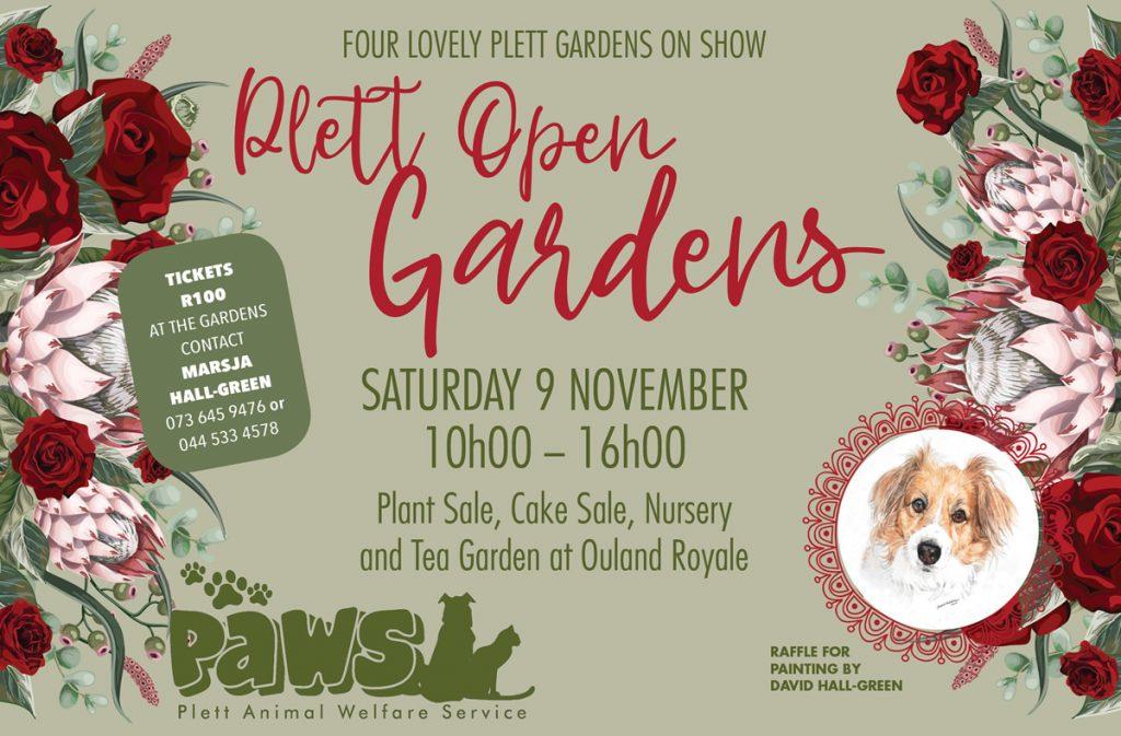 PAWS Plett Open Garden Day 2019