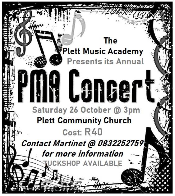 Plett Music Academy annual concert