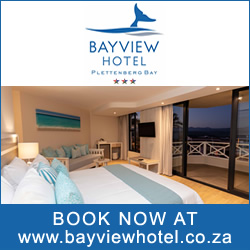 Book hotel accommodation in Plettenberg Bay
