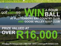 Win plenty of golfing treats in Plett