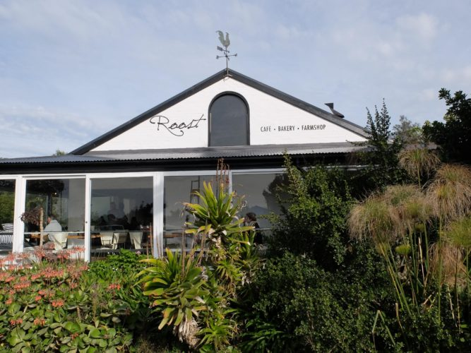 Roost restaurant, bakery and coffee roastery in Plettenberg Bay